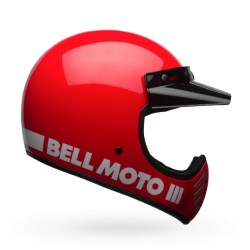 BELL MOTO-3 RED CLASSIC