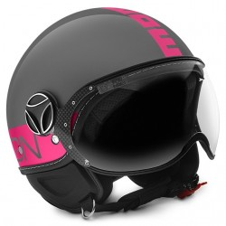 MOMO - FGTR FLUO GLOSSY GREY - FUXIA FLUO DECAL