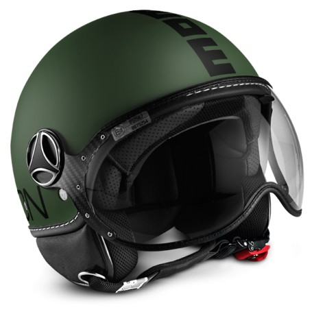MOMO - FGTR CLASSIC MILITARY GREEN MATT - BLACK DECAL